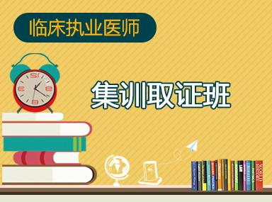 2019临床执业集训取证班(面授·不过退费)