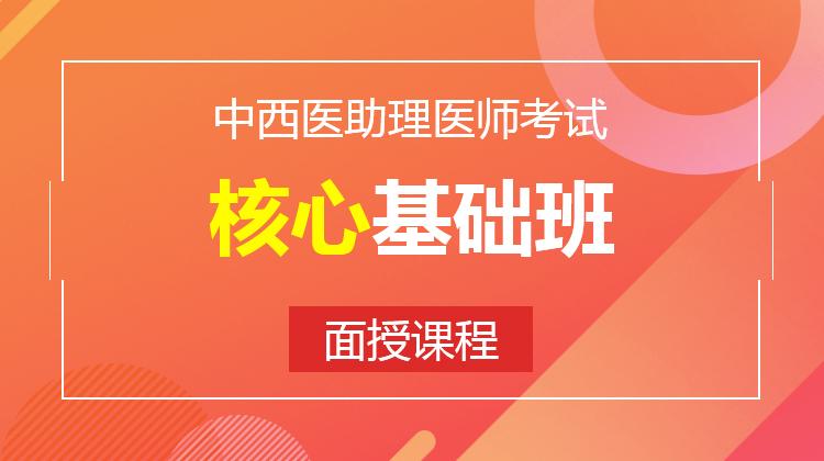 2021中西医助理核心基础班(面授)