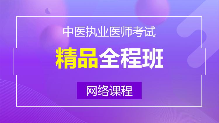 2020中医执业精品全程班