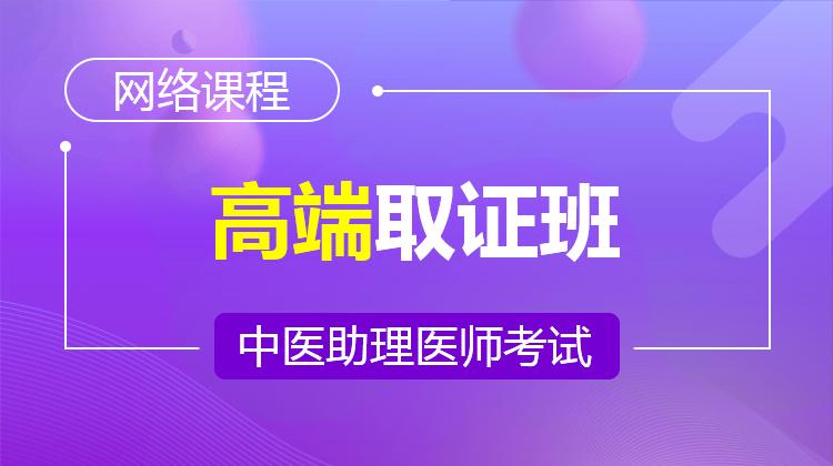 2021中医助理集训班(不含密卷)