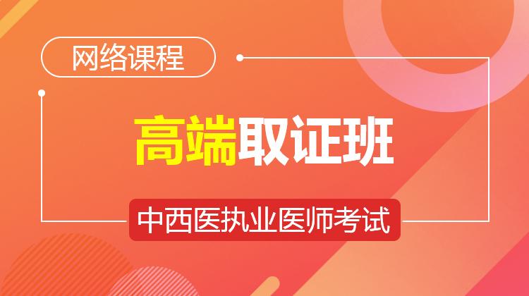 2021中西医执业集训班(不含密卷)