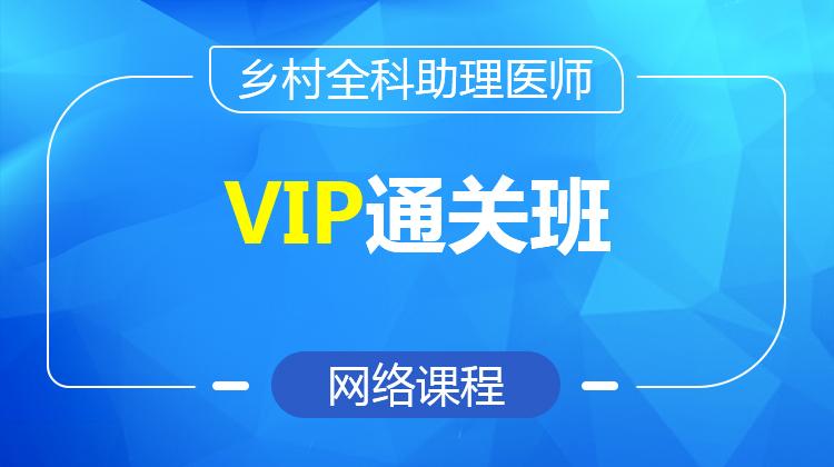2021乡村全科执业助理医师VIP通关班