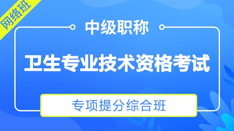 2022儿科学(332)专业技术资格考试[专项提分综合班]